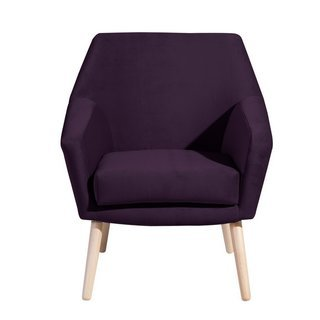 Retro Sessel Alegro, purple